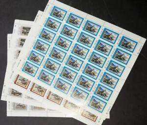 EDW1949SELL : USA 1988, 1990, 1993, 1994 Full Shts of Montana Duck stamps VF MNH