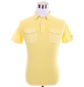 Tommy-Hilfiger-Men-Short-Sleeve-Custom-Fit-Solid-Polo-Shirt-Free-0-Ship