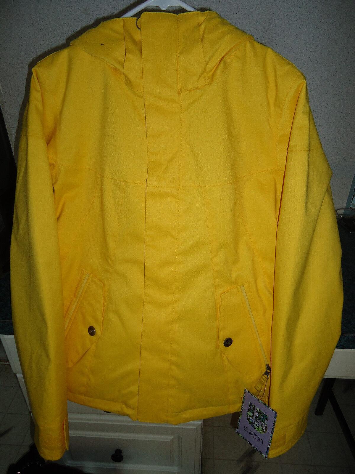 Burton Penelope  Insulated Jacket Wohombres medio (M) Citronela SRP  190  Esperando por ti
