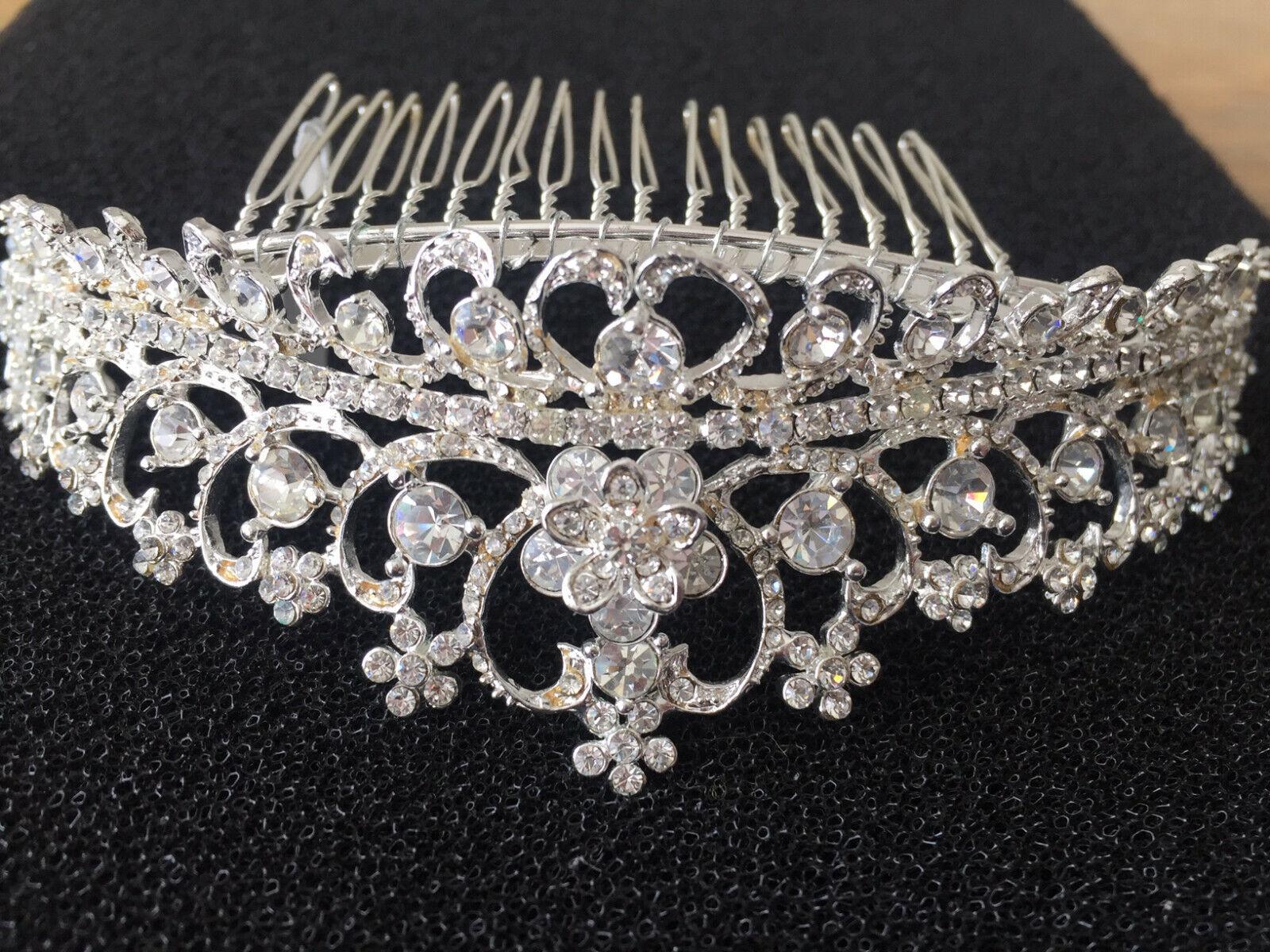 swarovski crystal headband bridal brand new