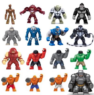 Baukästen Figur Super Hero Iron Man Spielzeug Kinder Geschenke Bausteine 8PCS