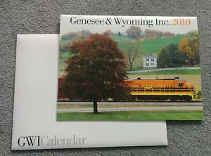 GWI Genesee & Wyoming inc 2010 CALENDAR to use again THIS YEAR IN 2021 and 2027
