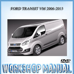 ford transit vm 2006 2013 workshop service repair manual in disc ebay rh ebay com au Ford Grand Tourneo Connect Tourneo Ford Connect2006
