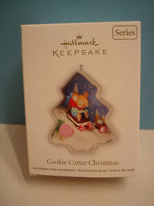 COOKIE CUTTER CHRISTMAS Hallmark Ornament 2012, first in ...