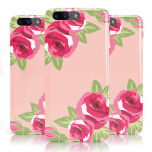 finest selection 4a6ea fcad4 Details about DYEFOR BIG PINK ROSE PATTERN SHABBY CHIC PHONE CASE COVER FOR  ONEPLUS