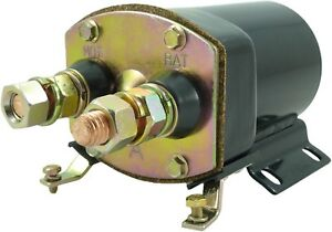 STARTER SWITCH SOLENOID 12V FOR DELCO 40MT 50MT FITS CATERPILLAR CUMMINS ENGINES