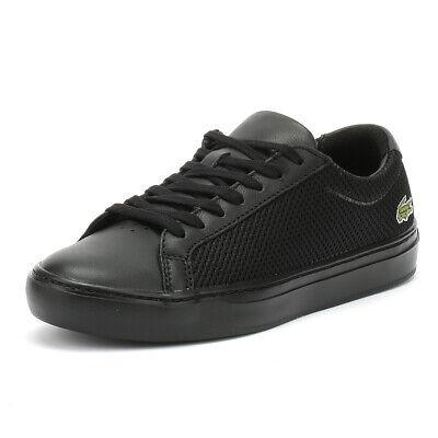 Lacoste Sneaker Uomo Nero L.12.12 Light-wt 318 3 Lacci Sport Scarpe Casual-mostra Il Titolo Originale I Clienti Prima Di Tutto