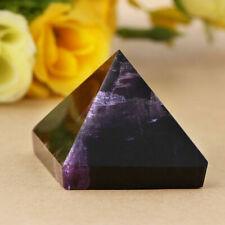 Décora Cristal Naturelle Pyramide D'améthyste Violet Pierre Précieuse Décoration