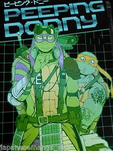 Teenage Mutant Ninja Turtles doujinshi Donnie X Raph HELLO! NEWLYWEDS 38pages