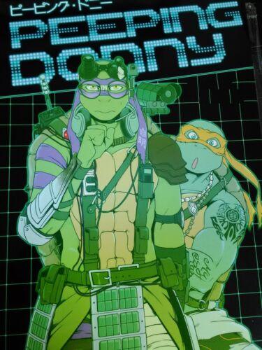B5 26pages Teenage Mutant Ninja Turtles doujinshi Rotten Freaks TMNT DONNY