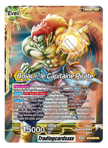 bt6-080 cpu-vf ♦ ♦ super dragon ball Bojack the pirate captain
