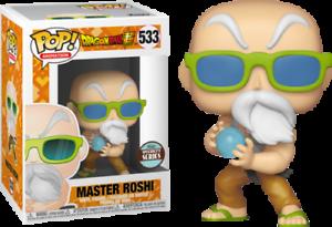 DRAGONBALL Z MASTER Roshi Specialità Serie Esclusiva Funko Pop Vinile 553 MANGA
