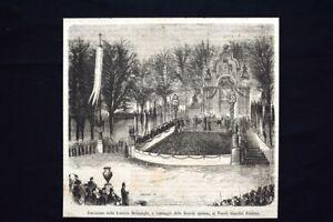 Estrazione-Lotteria-Belinzaghi-ai-Vecchi-Giardini-Pubblici-Incisione-del-1869