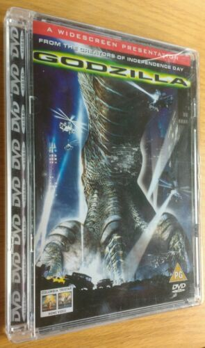 1 of 1 - Godzilla (DVD, 2010) Matthew Broderick Jean Reno Roland Emmerich