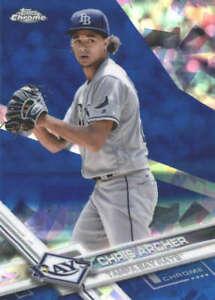 CHRIS-ARCHER-2017-TOPPS-CHROME-SAPPHIRE-EDITION-326-ONLY-250-MADE