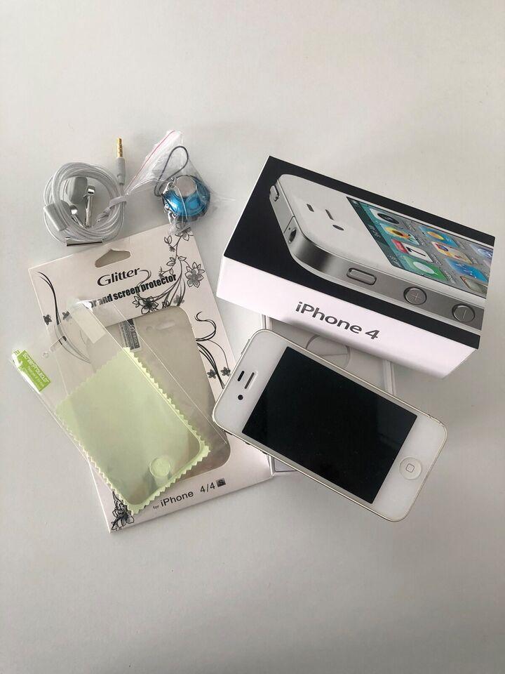 iPhone 4, 32 GB, hvid