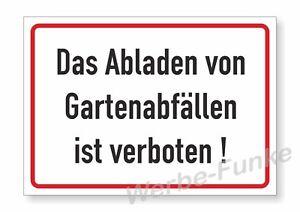 1-Schild-Gartenabfaelle-abladen-verboten-30-x-21-cm