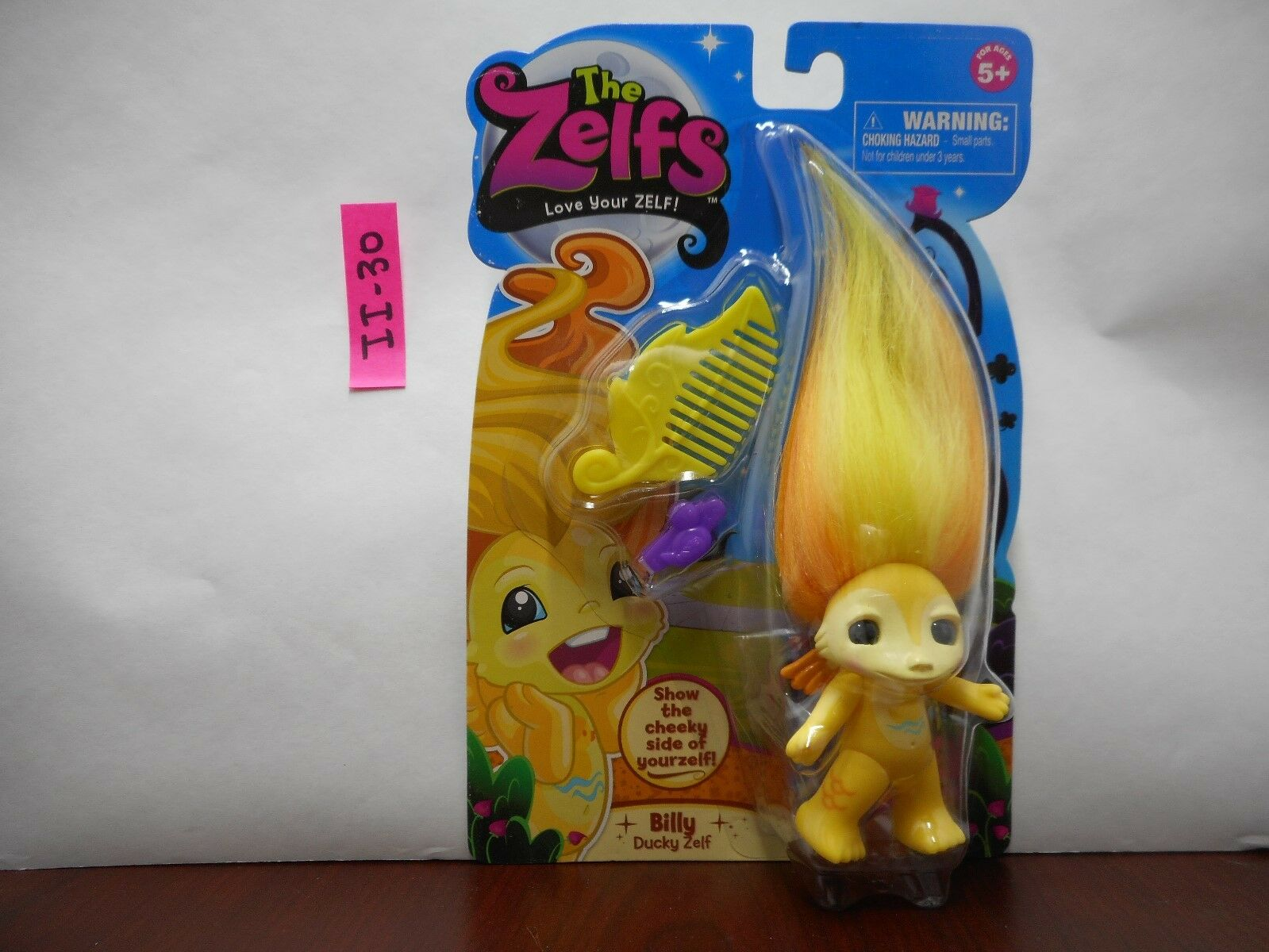 The Zelfs with Accessories Brand New on Card