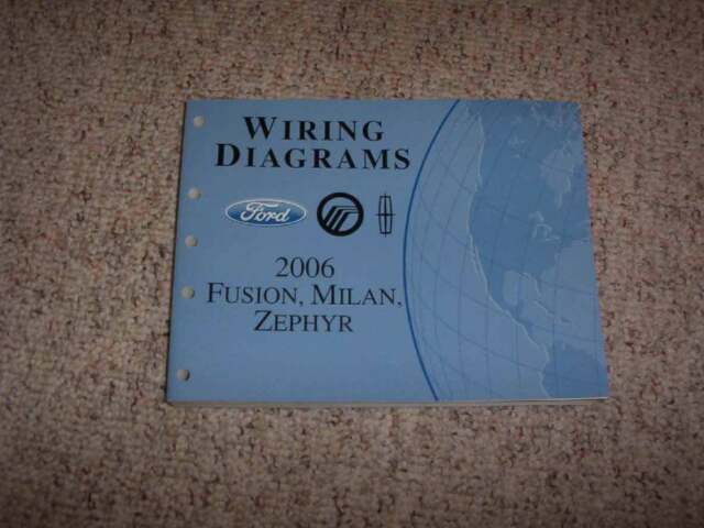 2006 Lincoln Zephyr Electrical Wiring Diagram Manual 3 0l