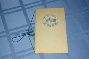 Palmer Method of Business Writing Student Certificate Diploma 1941 Penmanship