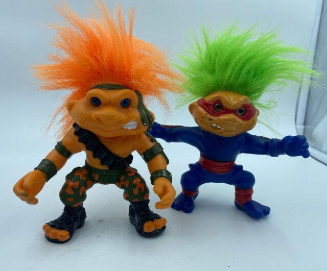 "Battle Trolls 5"" Sargent And Nunchuck Hasbro"