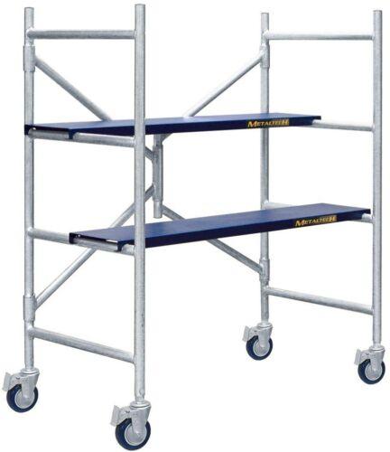MetalTech Job Site Series 4 ft Load x 3-1//2 ft Scaffold 600 lb x 1-3//4 ft