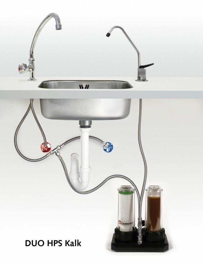 CARBONIT Sous Table Filtre DUO-HP Chaux (  1stk)