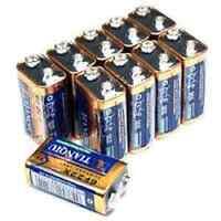 100 × 9V 6F22 TIANQIU Zinc Carbon Primary Battery Brand New Factory Direct Bulk