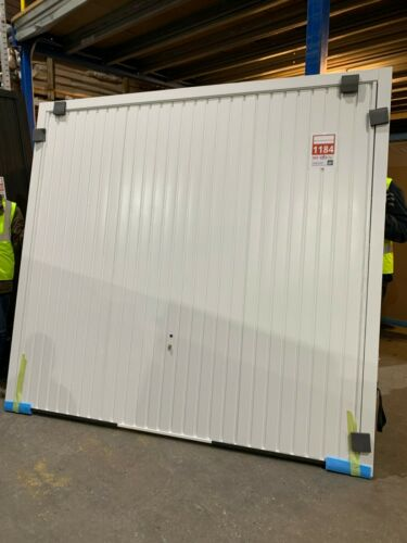 Thornby Retractable Framed W2134mm x H1981mm White Brand new stock