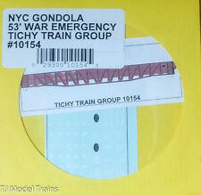 Tichy Train Group #10154 Decal for: New York Central 53' War Emergency Gondola