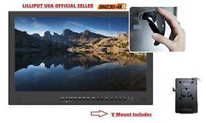 LILLIPUT-BM230-4KS-23-8-034-Broadcast-Ultra-HD-3G-SDI-HDMI-Monitor-w-HDR-3D-Lut-Vm