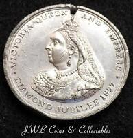1897 Queen Victoria Diamond Jubilee Medal