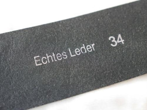 NEU Hüftgürtel Echtes Leder MEGA PREIS !! Schwarz//Grau