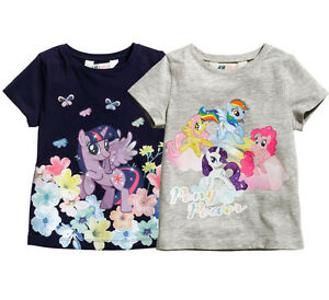 Tee Sleeve Baby amp;m 2pc Girl Shirt Pony Little My Toddler T Short H j4ALqR53