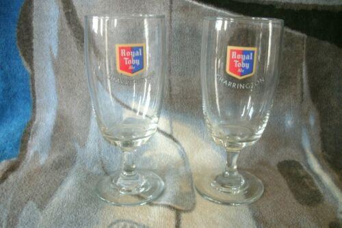 FREE UK P+P ............... A Pair Of CHARRINGTON Royal Toby Ale .25L Glasses