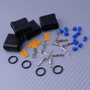 4-juego-de-bobinas-puerto-arnes-conector-terminal-para-Subaru-Impreza-02-13