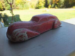 Vintage Antique Sun Rubber Co Streamline Art Deco Look Toy Car