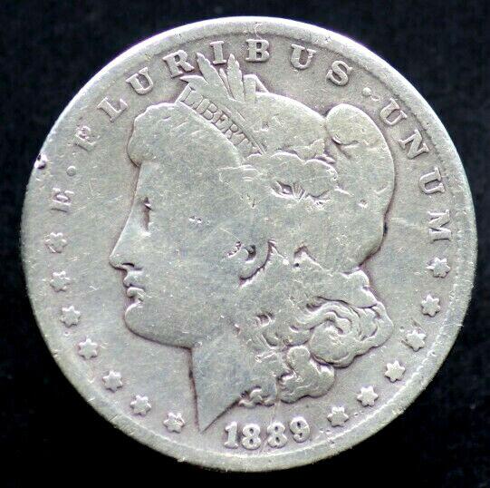 1 Dollar 1889 Etats Unis / Usa - United States Of America - Silver Morgan Dollar