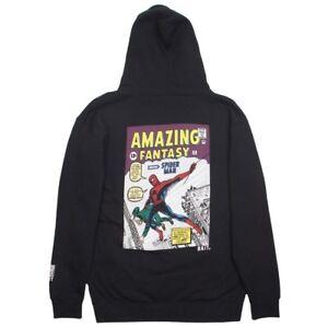 926fecb1 Image is loading BAIT-x-Marvel-Comics-Men-Amazing-Spiderman-Hoody-