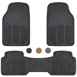 Car-Floor-Mats-for-All-Weather-Rubber-Heavy-Duty-Protection-Auto-SUV-Van-3-PCS