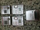 5 Sony and Sharp MD MZR500 MZNE410 MZR70 MZR37 Mini Disc Players Recorders lot