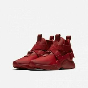 buy popular d88ad c9f8f NEW Nike Air Huarache City (GS) AJ6662-601 Sneakers Size 3.5y RED | eBay