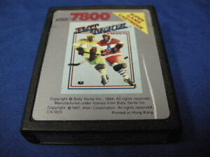 AS-IS-HAT-TRICK-HOCKEY-FOR-ATARI-7800-NOT-TESTED