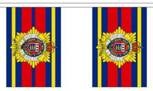 9m long with 30 Flags British Army Royal Logistic Corps Polyester Flag Bunting