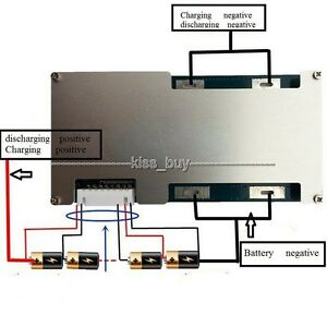 6s-24v-Li-ion-Lithium-Cell-60A-18650-Battery-Protection-BMS-PCM-Board-w-Balance