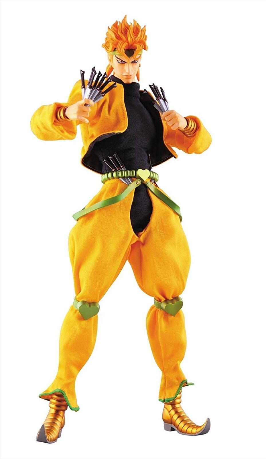 MEDICOM TOY Real Action Heroes JoJo`s Bizarre Adventure DIO 1 6 Action Figure