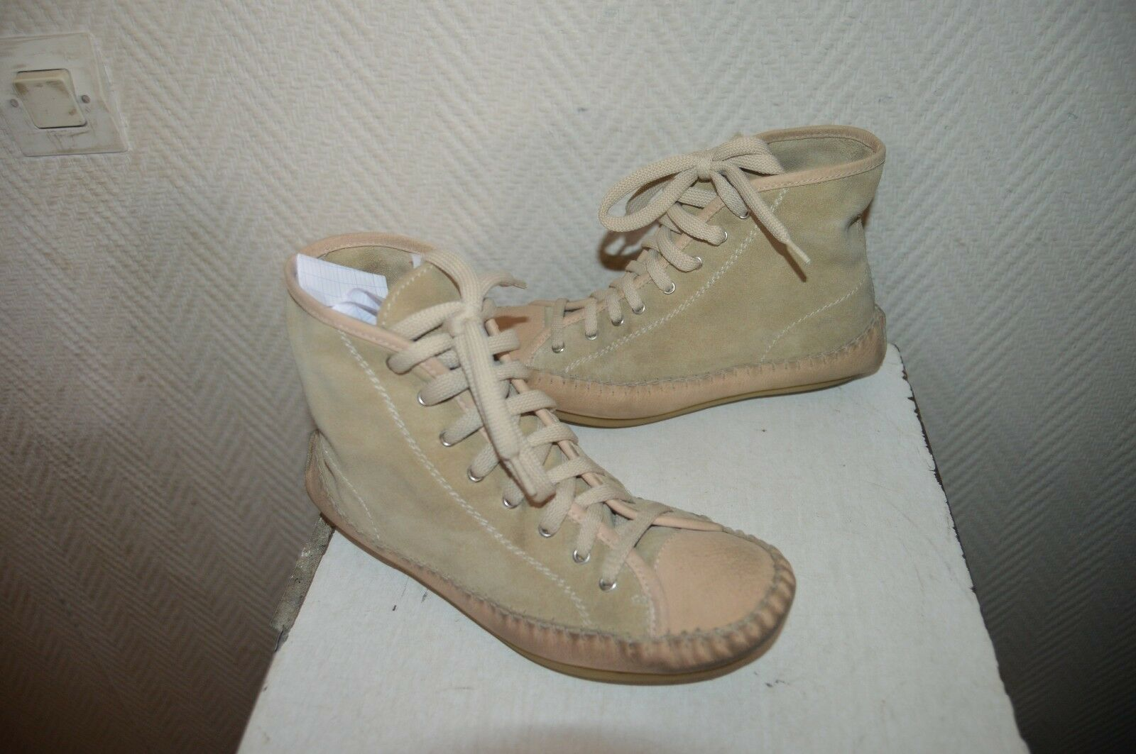 CHAUSSURE CUIR BASKET SEE BY CHLÖE size 36 SHOES shoes STIVALI INDIENNNE