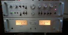 Vtg. Scott Stereo amplifier Alpha 6 & Scott Stereo preamplifier Alpha 1 combo