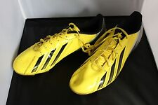 adidas F5 TRX FG Soccer Cleats Vivid Yellow with Black, used 1 time,SIZE 10