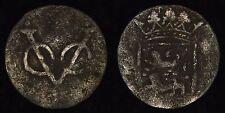 "NETHERLANDS VOC (WEST FRIESLAND) - 1700s Duit - So-called ""New York Penny"""